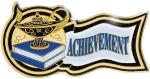 Achievement Scholastic Award Pin